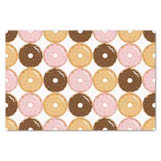Frosted Donut Pattern Tissue Paper