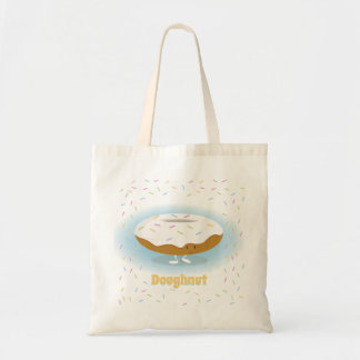 Frosted Donut with Sprinkles | Basic Tote