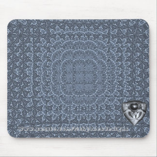 Frosted Fractal MousePad