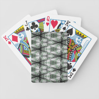 Frosted Gamma Pattern 2 Bicycle Playing Cards
