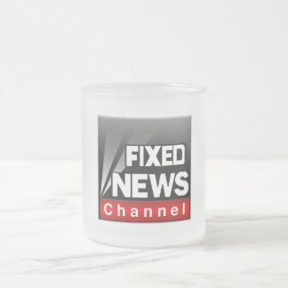 Frosted Glass Fixed News Cup Frosted Glass Mug