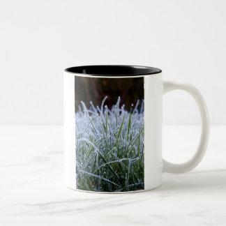 Frosted grass mug