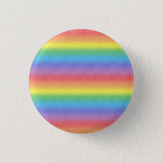 Frosted Rainbow 3 Cm Round Badge