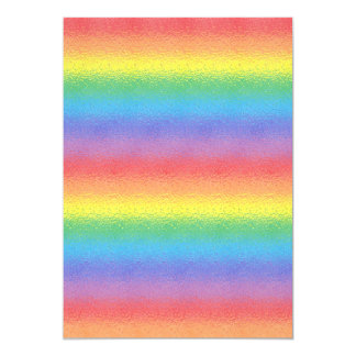 Frosted Rainbow Card