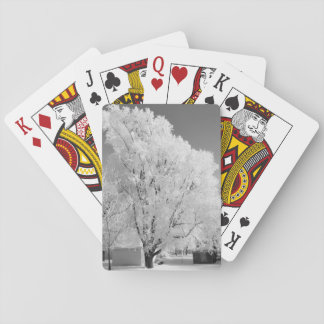 Frosted Tree Playing Cards