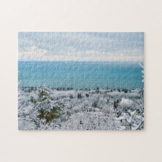 Frosted Trees Jigsaw Puzzle