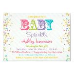 Frosting and Sprinkles Baby Sprinkle Invitation 13 Cm X 18 Cm Invitation Card