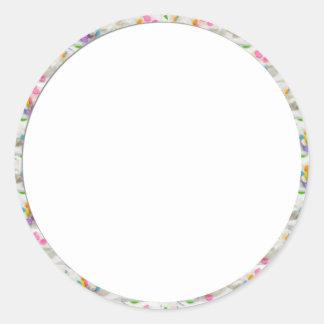 Frosting & Decorations Bordered Round Sticker
