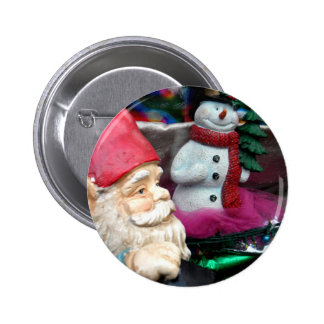 Frosty and Gerome 6 Cm Round Badge
