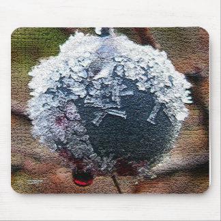 Frosty Blueberry Mouse Pad