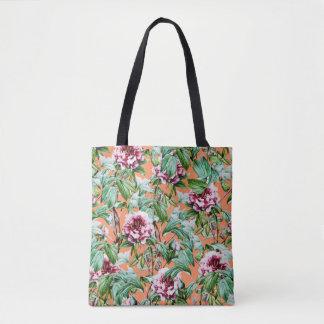 Frosty Florals V2 Tote Bag