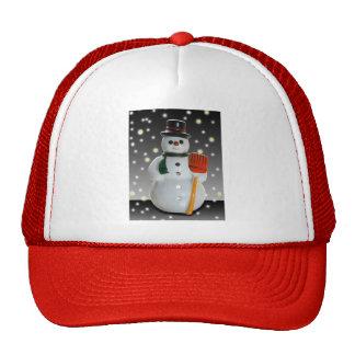frosty trucker hats