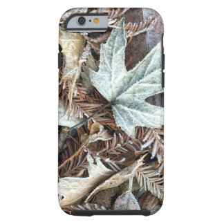 Frosty Leaves Phone Case
