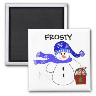 Frosty Fridge Magnet