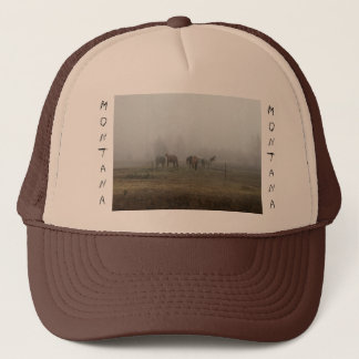 Frosty Morning Fog in Montana Hat
