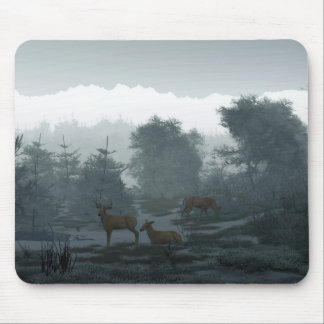 Frosty Morning Mouse Pad