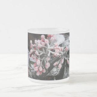 Frosty mug