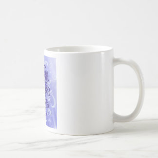 Frosty pattern basic white mug