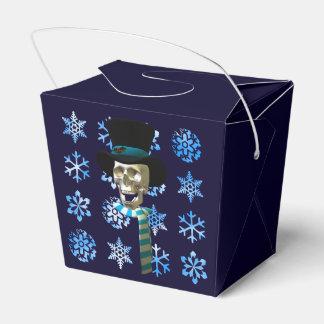Frosty Skull Party Favour Box