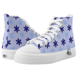 Frosty Snowflakes Hi Tops