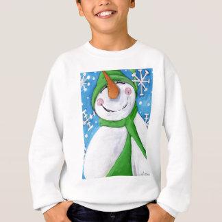 Frosty the happy snowman sweatshirt