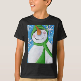 Frosty the happy snowman T-Shirt