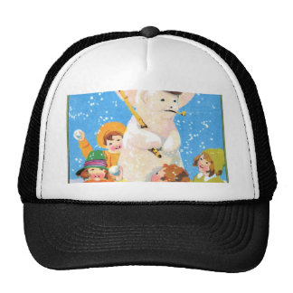 Frosty The Snowman and Children Hats