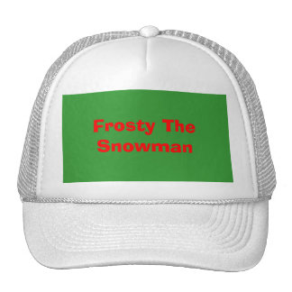 Frosty The Snowman Cap