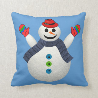 FROSTY THE SNOWMAN CHRISTMAS PILLOW
