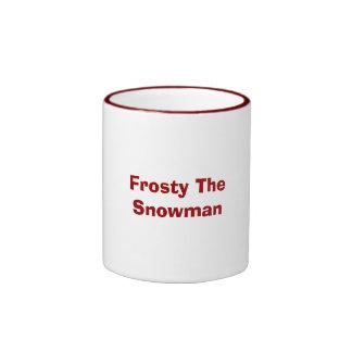 Frosty The Snowman Ringer Mug