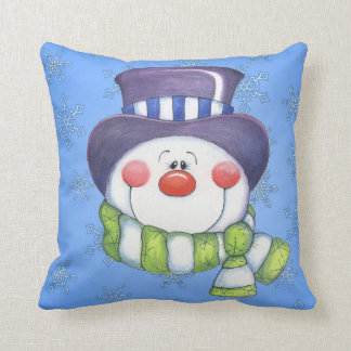 Frosty Throw Cushion