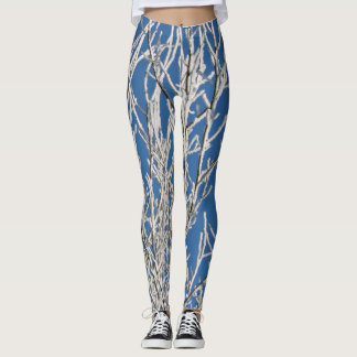 Frosty Winter Mornings Leggings