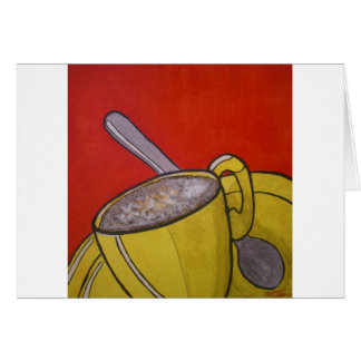 Frothy Coffee Card