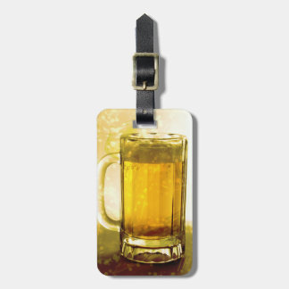 Frothy Mug Of Beer Luggage Tag