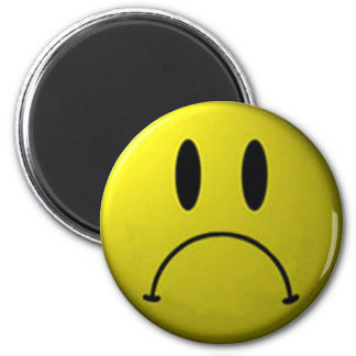 Frown Face Magnet