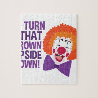 Frown Updide Down Jigsaw Puzzle