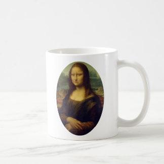 Frowning Mona Lisa Mugs