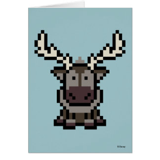 Frozen | 8-Bit Sven Card