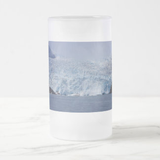 Frozen Beauty Frosted Glass Beer Mug