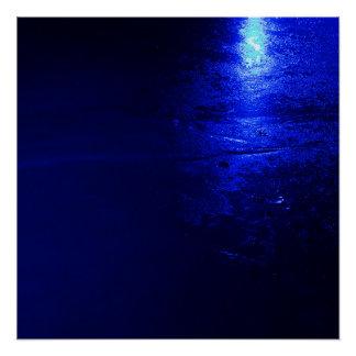 """Frozen Blue 20"""" x 20"""", Poster Paper (Semi-Gloss)"""