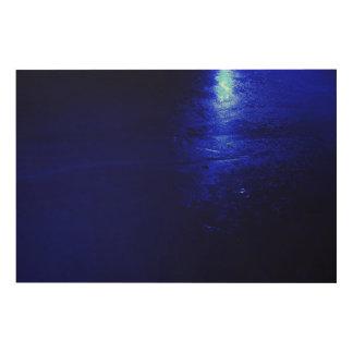 """Frozen Blue 36""""x24"""" Wood Wall Art"""