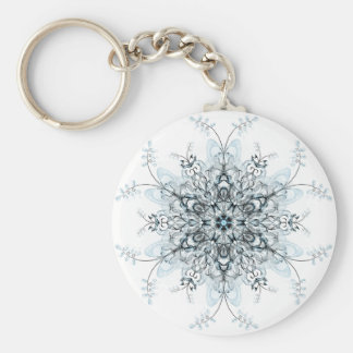 Frozen Bluebells Key Ring