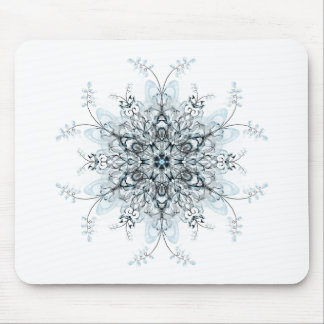 Frozen Bluebells Mouse Pad