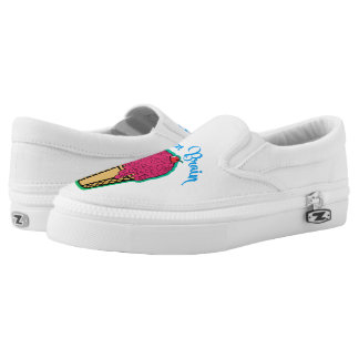 Frozen Brain Slip-On Shoes