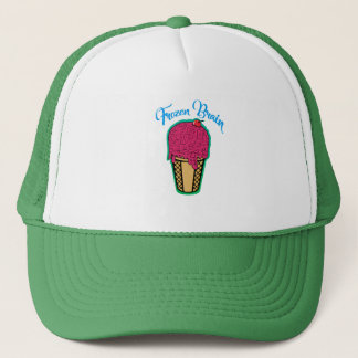 Frozen Brain Trucker Hat