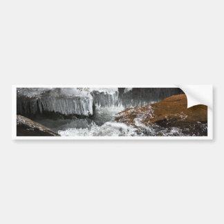 Frozen Bridge Bumper Sticker
