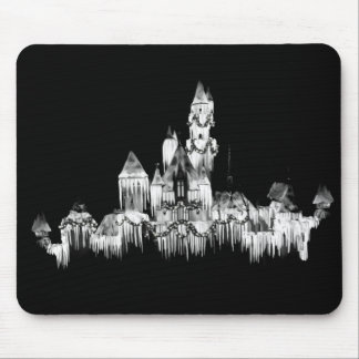 Frozen Castle - B&W Mouse Pad