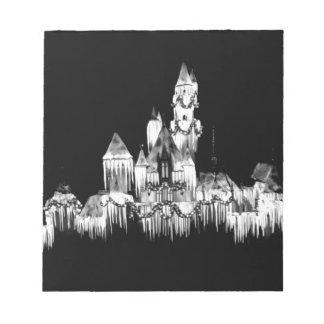 Frozen Castle - B&W Notepad