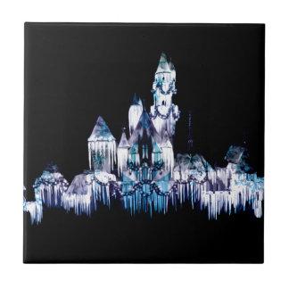 Frozen Castle - Snowflakes Tile