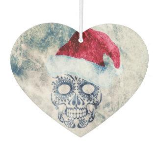 frozen Christmas skull Car Air Freshener